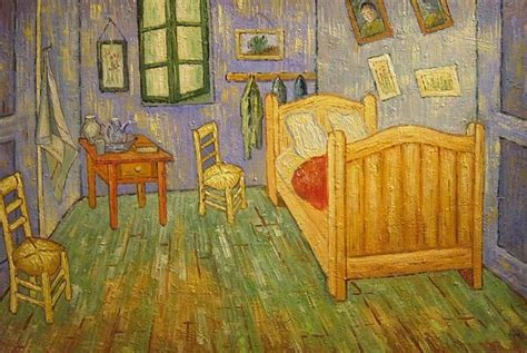goghs bedroom at arles painting by vincent willem