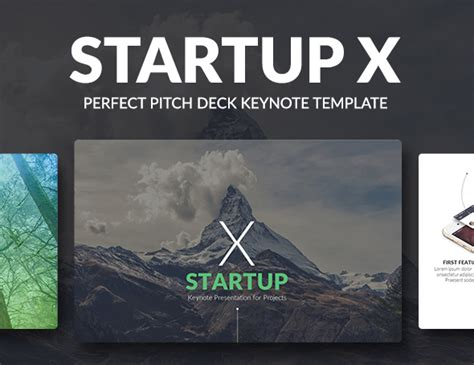 powerpoint template startup pitch discover startup x pitch deck powerpoint