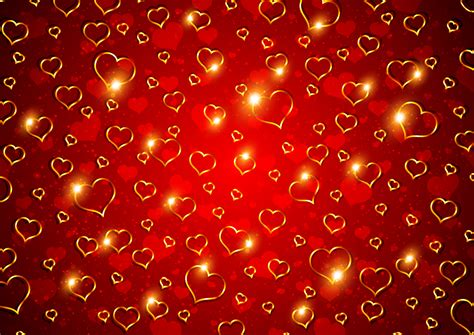 valentines day background 01 vector free vector 4vector