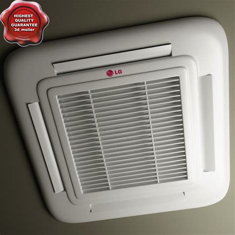 Ac Lg Model T05nla lg cassette type air conditioner 3d model