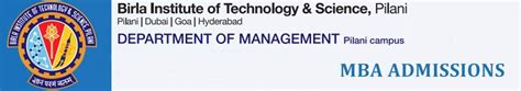 Most Important Part Of Mba Application by Bits Pilani Mba Admissions 2018