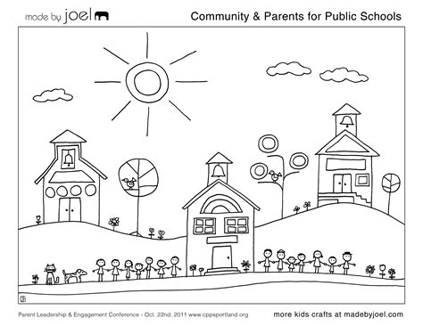 coloring pages beginning school year made by joel