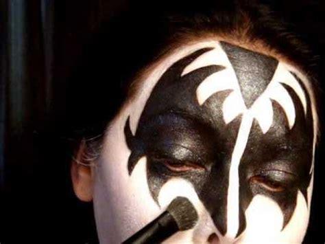 kiss makeup tutorial demon gene simmons makeup instructions makeup vidalondon