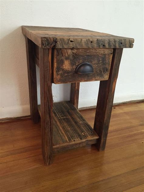 Wooden End Tables Best 25 Rustic End Tables Ideas On Pinterest Wood End Tables Decorating End Tables And Diy