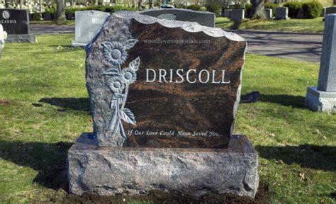 woodlawn memorials cemetery memorials headstones double monuments woodlawn memorials