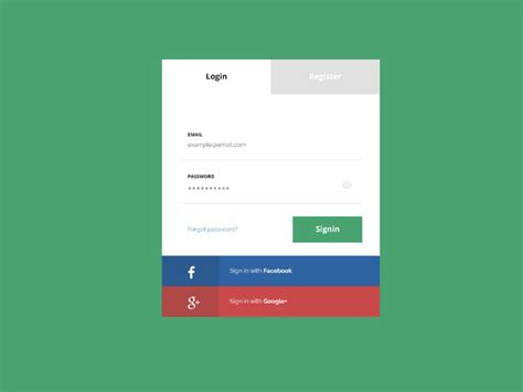 metro ui sign up page design psd on behance flat login page psd mockup freebie magz