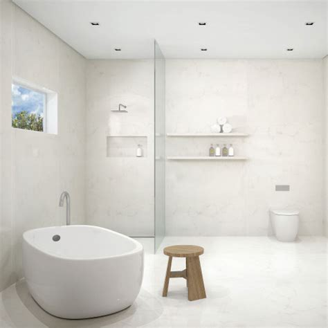 alternative to tiles for bathrooms caesarstone bathroom vanities wall lining bath shower surrounds