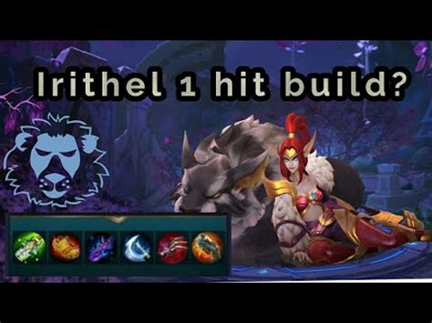 mobile legend 1 hit mobile legends irithel 1 hit build top 1 build