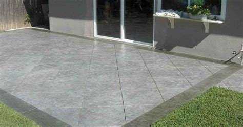 Concrete Patio Designs Layouts Stylish Concrete Patio Design With Tiled Pattern Pavement Layout Design Concrete