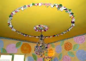 Dolls House Chandelier Alice In Wonderland Cottage In Eye Popping Colours On