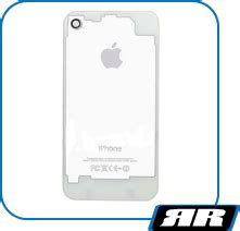 Ivue Ipod by Ivue Clear White Back Panel For Iphone 4 Rapid Repair