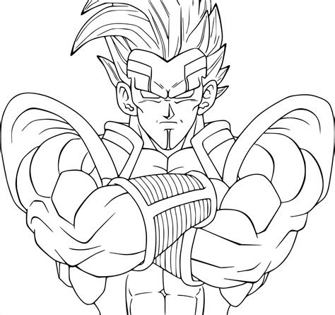dragon ball z baby coloring pages drain pinterest dragon baby vegeta coloring pages ball z