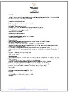 Insurance Broker Sle Resume by Professional Curriculum Vitae Resume Template For All Seekers Sle Template Of An