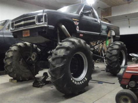 mega truck chassis find new 1993 chevrolet s10 monster truck mega truck mud