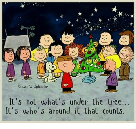 charlie brown christmas its not whats under the tree quote 25 best memes about trees trees memes