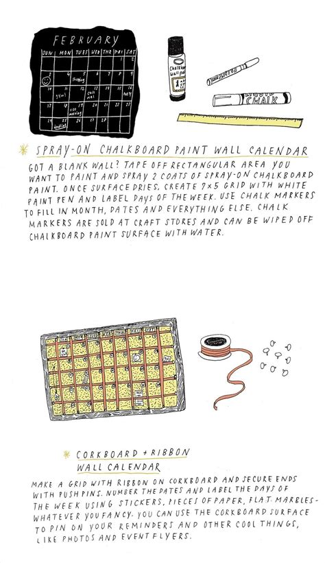 Cool Calendars 5 Cool Diy Calendar Ideas For 2013 171 The Secret Yumiverse
