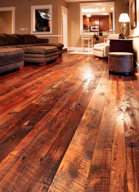 reclaimed barn wood flooring dream home pinterest
