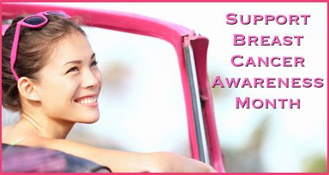 Support Breast Cancer Awareness Month 3 Ways To Think Pink | support breast cancer awareness month 3 ways to think pink