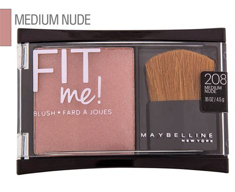 Blush On Maybelline Fit Me maybelline fit me blush 208 medium great daily