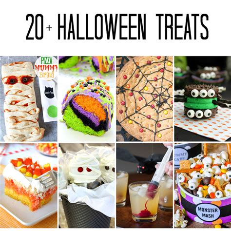 halloween treats 20 fun halloween recipes wishes and dishes