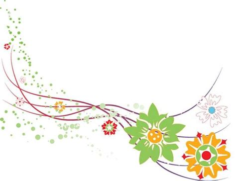 design bunga floral abstract flower design vector graphic free vector