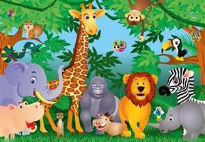 17 best images about dibujos infantiles on pinterest tiger animal wall mural photo wallpaper 153dk ebay