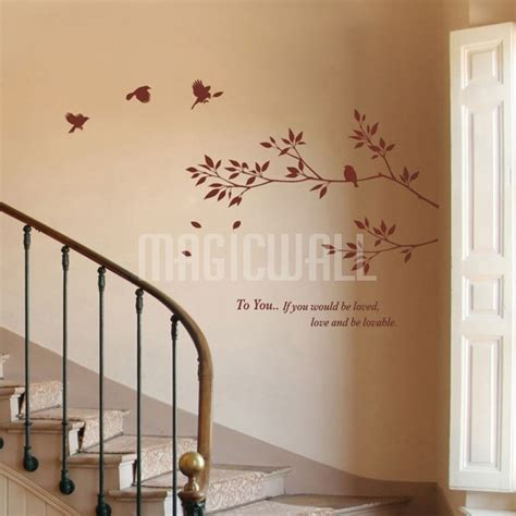 tree branch wall stickers tree branch with birds wall decals stickers canada