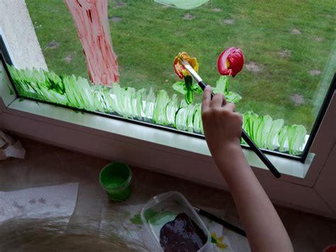 Fensterdeko Weihnachten Fingerfarbe by Fensterbild Mit Fingerfarben Diy Der Familienblog F 252 R