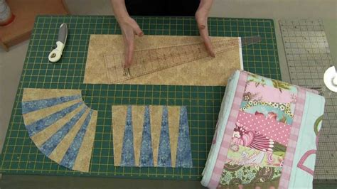 easy pattern making pattern rulers cutting wedges using the new sew easy 10 degrees wedge