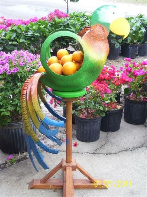 Recycled Tire Planter by Brilliant Ways To Re Purpose Tires Into Something New