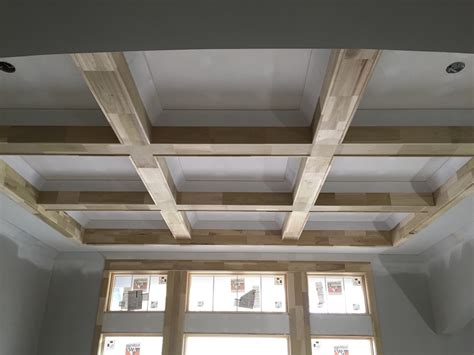 cathedral ceiling beams coffered ceiling and cathedral with lap and beams