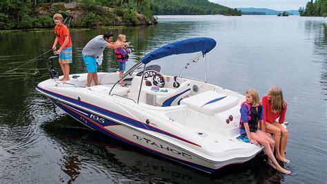 tahoe boats tahoe boats 2016 195 deck boat youtube