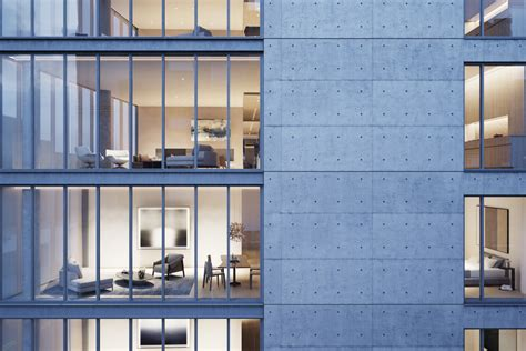 Green Building Homes images released of tadao ando s first nyc building archdaily