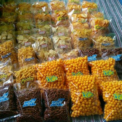 snack brand kiloan citato cikiball jetz cheetos lays