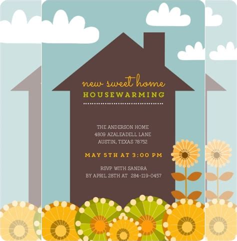 printable cards housewarming housewarming invitation template 30 free psd vector