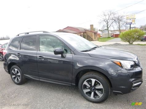 subaru metallic 2017 gray metallic subaru forester 2 5i limited