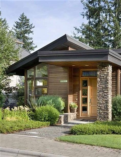 flat roof small house designs small bungalow house plans flat roof bungalow porch with herringbone detail fresh reno