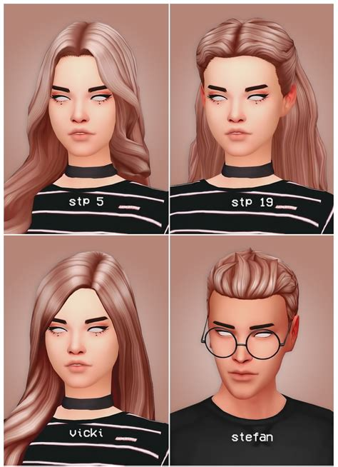 pulled up curls recolours at seven sims sims 4 updates hair dump at seven sims 187 sims 4 updates