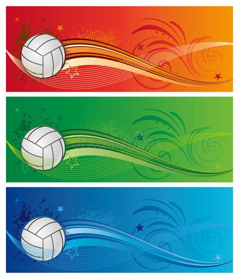 pattern energy competitors volleyball sport background royalty free stock photography