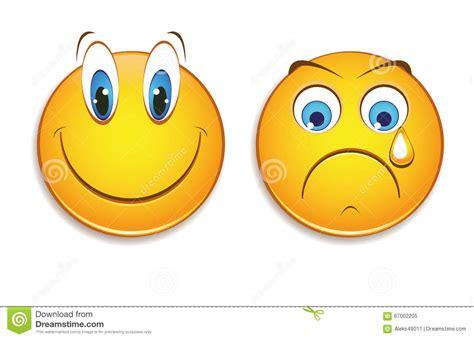 imagenes de tristeza alegria tristeza e alegria ilustra 231 227 o stock imagem 67002205