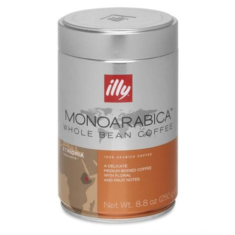 Coffee Bean Illy illy monoarabica single origin coffee from