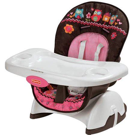 high chair space saver fisher price pink owl spacesaver high chair walmart