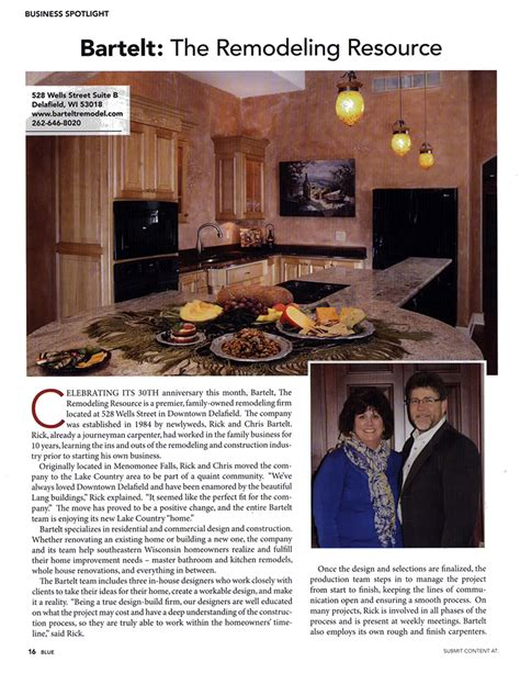 home the remodeling and design resource magazine te