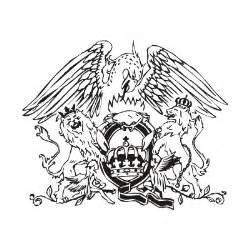 queen emblem tattoo queen music band vector logo free download