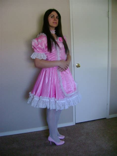 sissy boys that wear dresses another pink sissy dress by blue sky jen deviantart com on