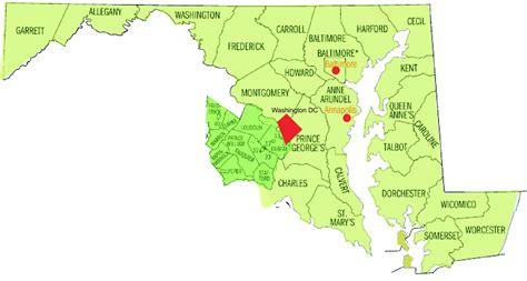 maryland map dc map of maryland and washington dc washington dc map