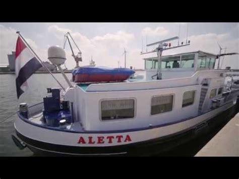binnenvaartschepen te koop binnenvaartschip te koop aletta youtube