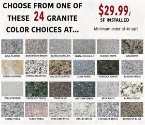 level 1 granite colors privacy policy markets