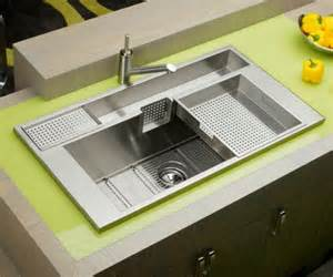 Kitchen Sinks And Faucets Designs Keeping It Clean 10 Unique Kitchen Sink Designs