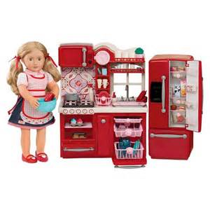 Doll Kitchen Set by Our Generation Gourmet Kitchen Set Og Gourmet Kitchen